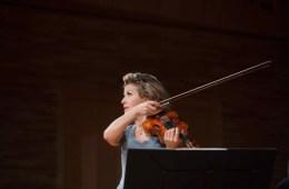violinist Anne-Sophie Mutter