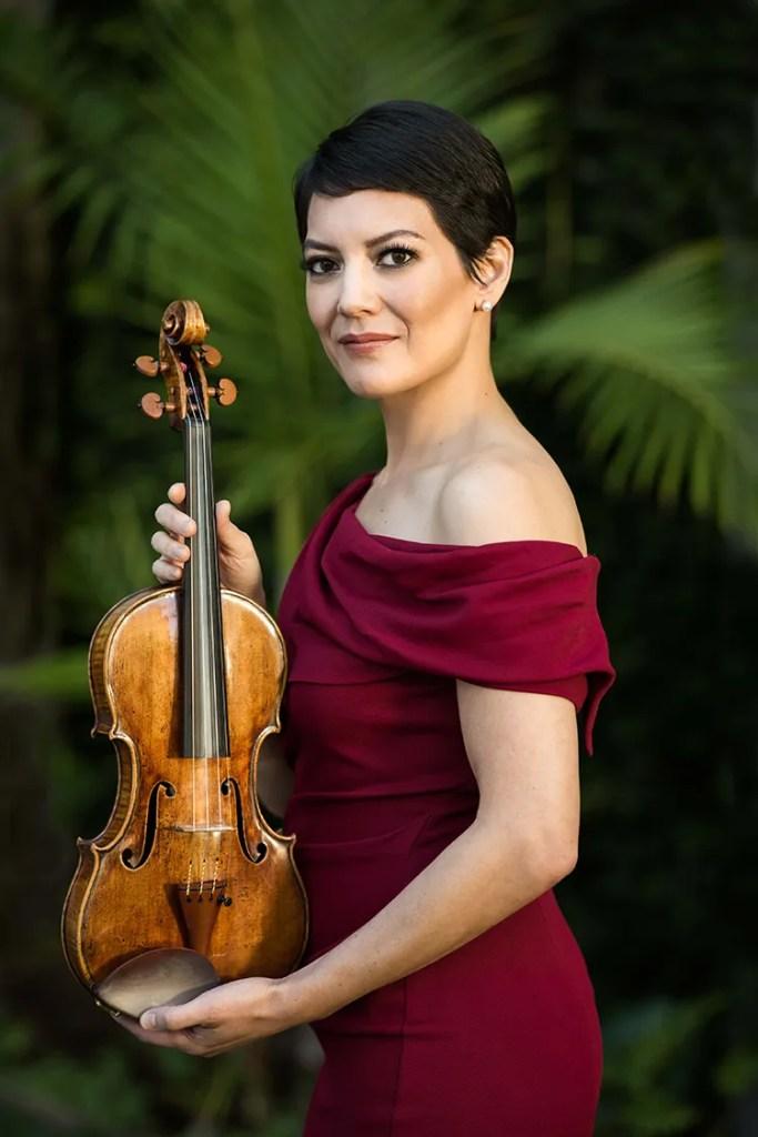 Anne Akiko Meyers, photo: David Zentz