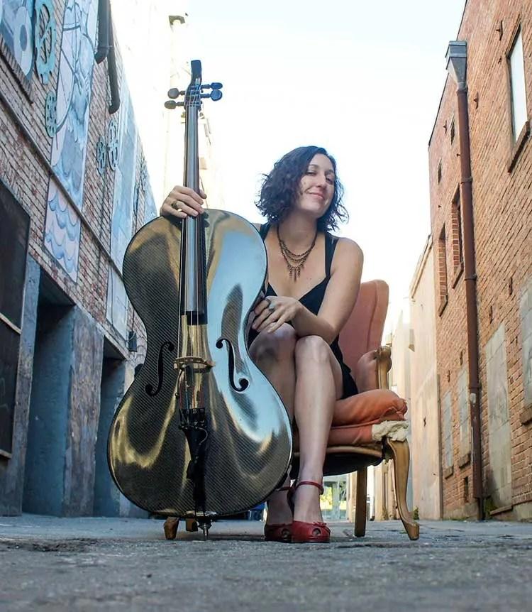 Rebecca Roudman of Dirty Cello