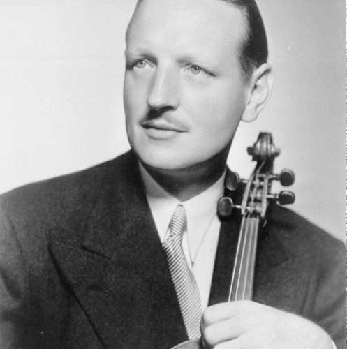 Violist William Primrosewith viola