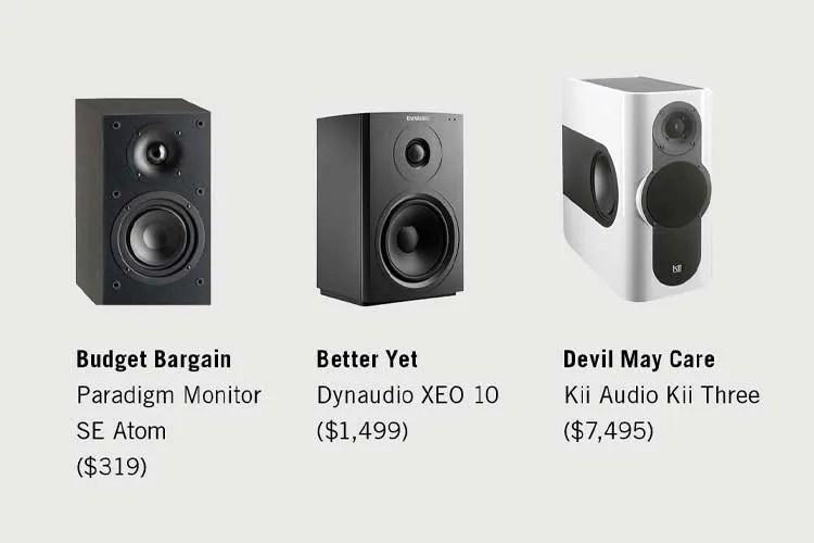three speaker options