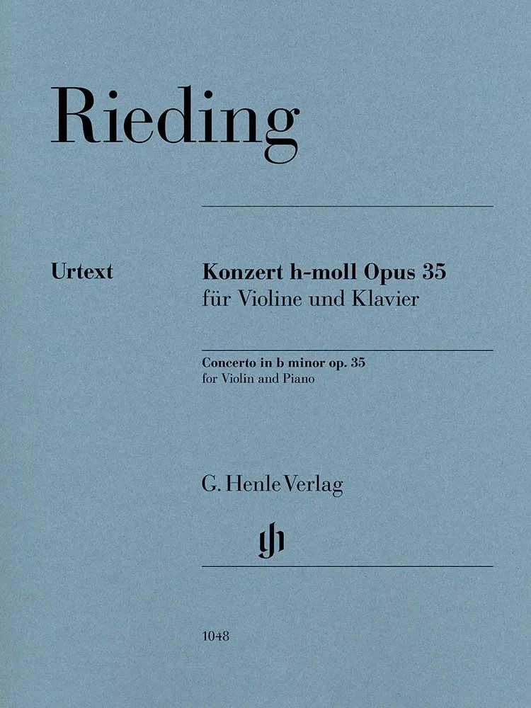 Rieding Violin Concerto in B minor, Op. 35