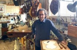 Instrument maker Eric Aceto