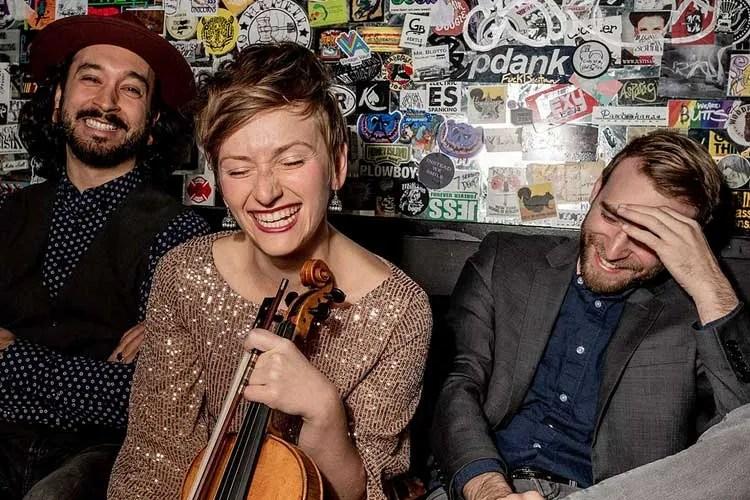 Katie McNally Trio fiddle music