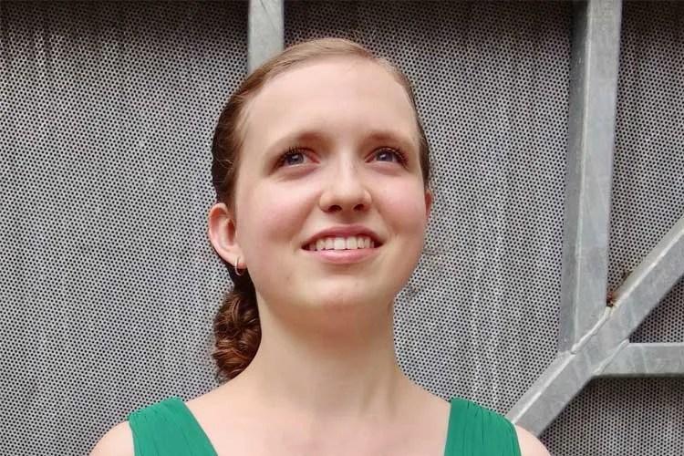 Violinist Charlotte Marckx