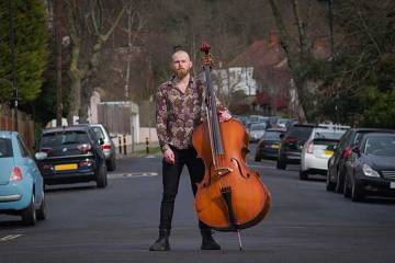 Double Bassist Toby Hughes