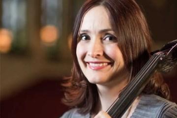 Cellist Miranda Wilson portrait