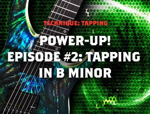 Tapping in B minor cover image
