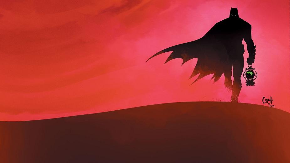 Poslednji vitez na Zemlji - Betmen u post-apokaliptičnom okruženju strip blog