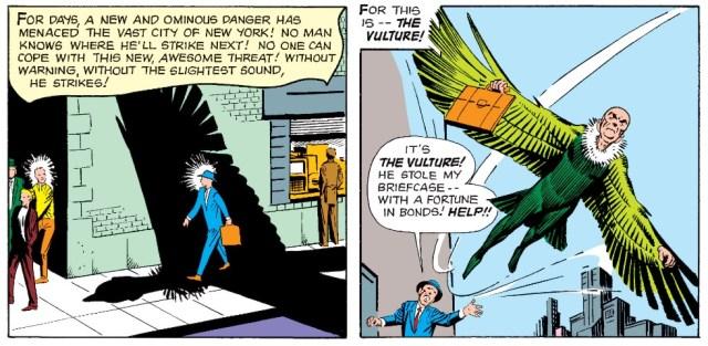 Zašto je Lešinar (Vulture) unikatan među superherojskim negativcima strip blog