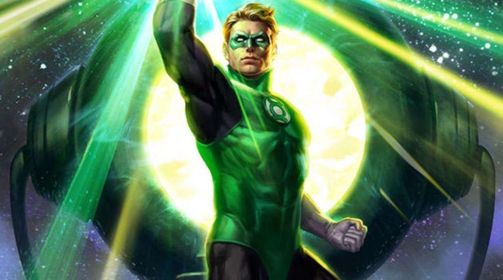 green lantern stripblog