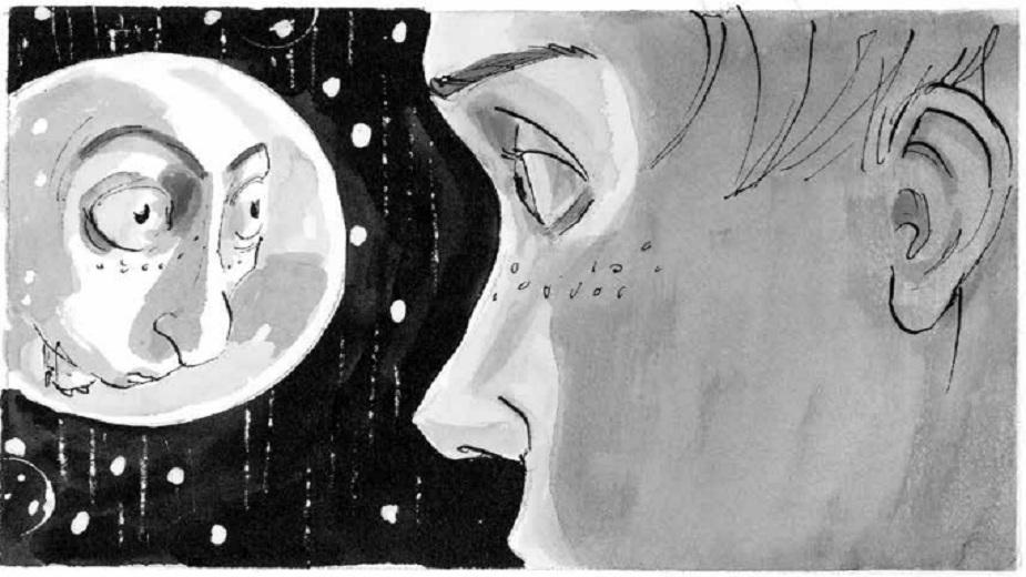 """""""Kući po mraku"""" - Odrastanje u kolotečini palanačke sredine strip blog"""
