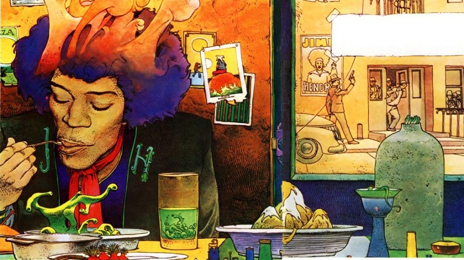 Mebijusove psihodelične ilustracije Džimija Hendriksa (GALERIJA) strip blog