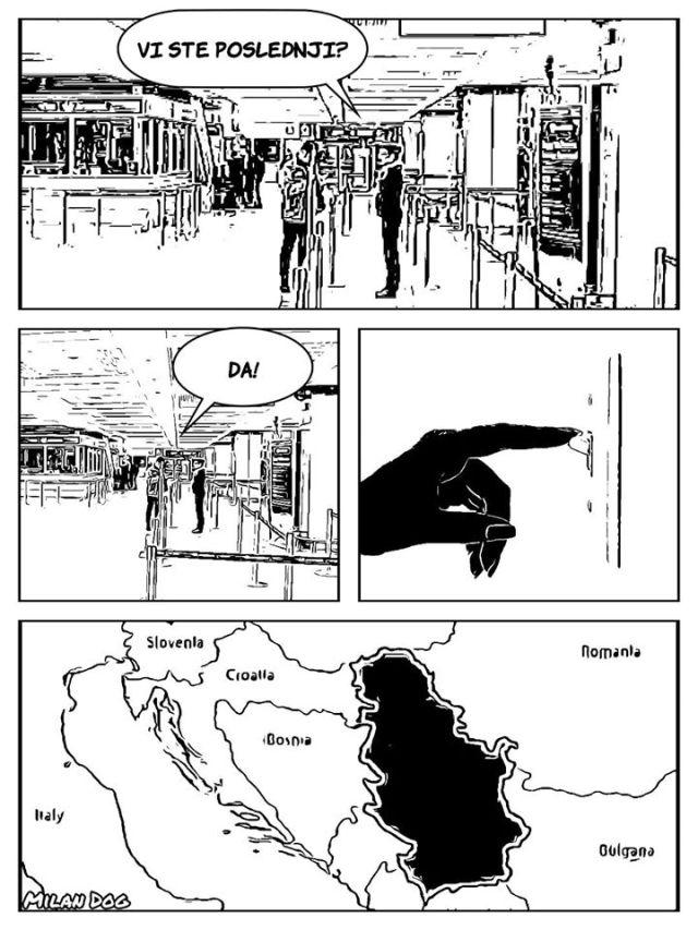 milan dog stripblog