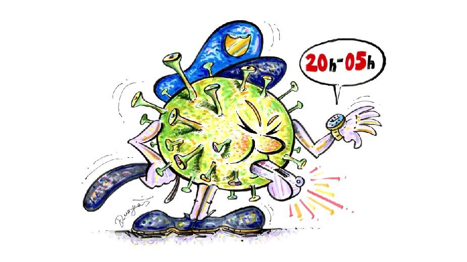 karikaturom protiv virusa stripblog