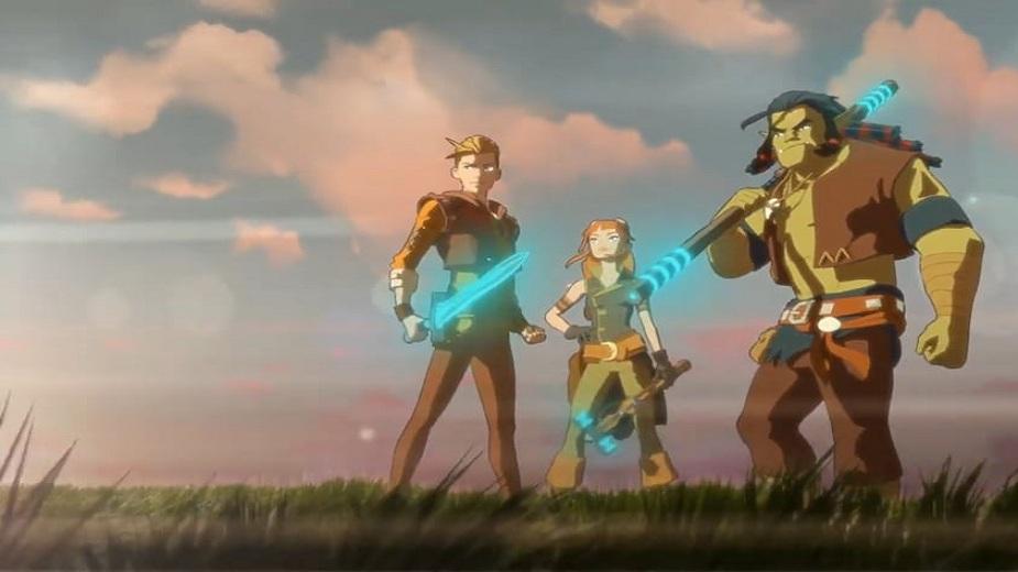 Objavljen je prvi teaser trailer animirane serije Dragonero (VIDEO) Strip Blog