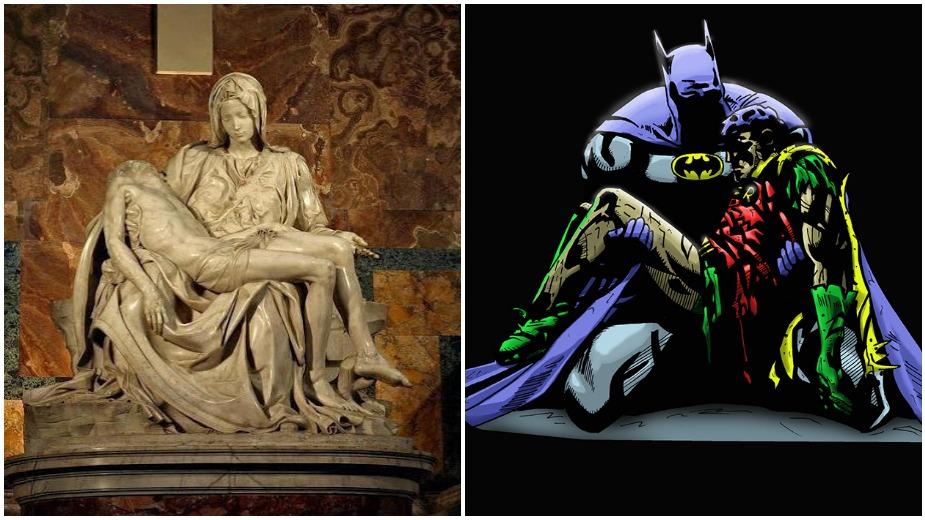 Mikelanđelova Pijeta kao večna inspiracija u američkim stripovima (GALERIJA) Strip Blog
