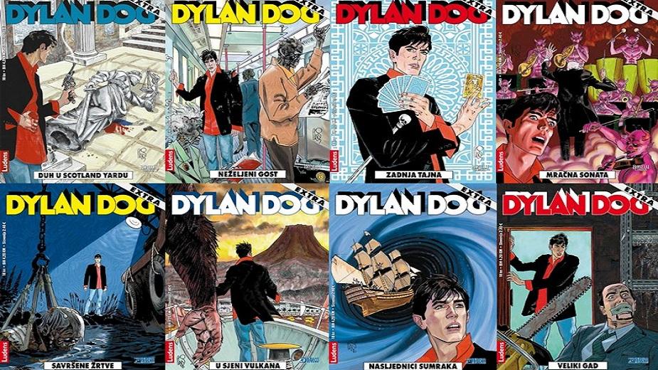 NOVA AUKCIJA ZA MALU IVU: 102 Dilan Dog stripa u izdanju Ludensa Strip Blog