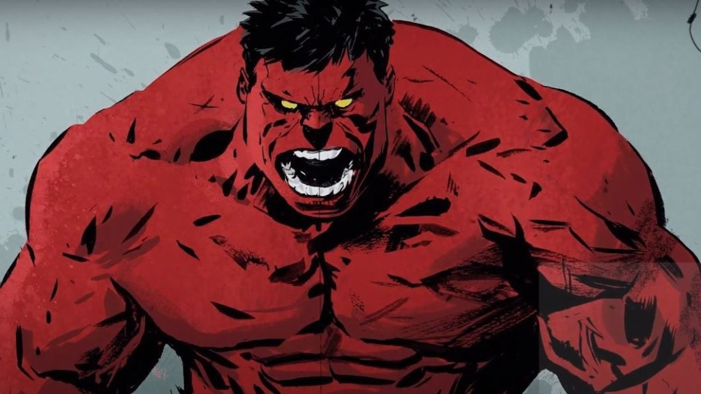 hulk vs red hulk stripblog