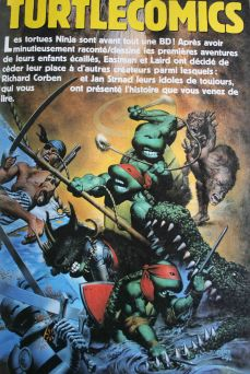 Les Tortues Ninja par Richard Corben