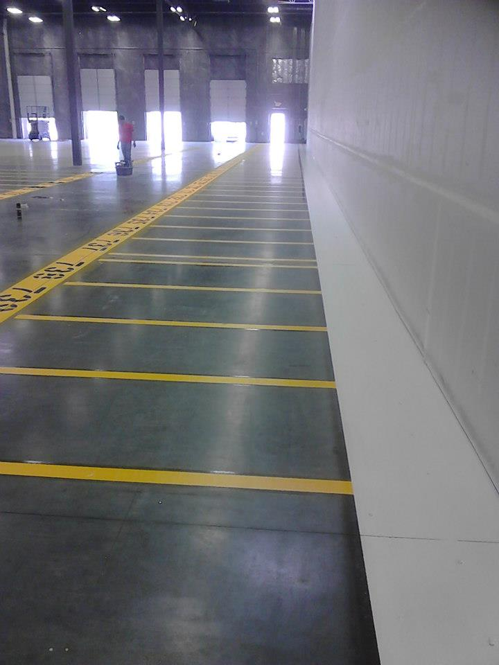 Warehouse Striping  stripeazone