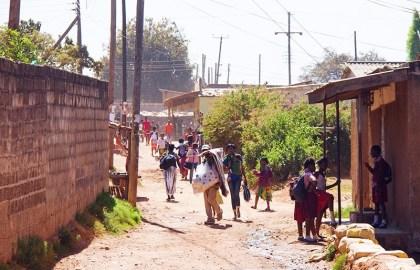 Sloppenwijken Lusaka