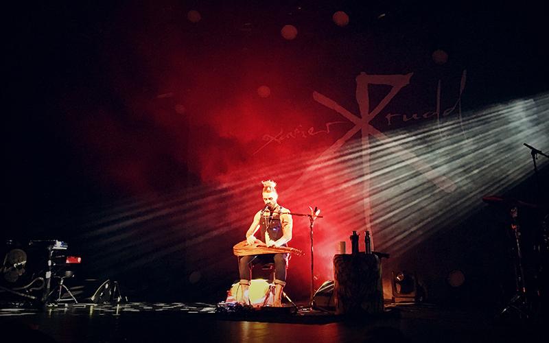 Xavier Rudd optreden in Tivoli