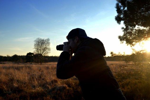 Fotograferen met Wesley