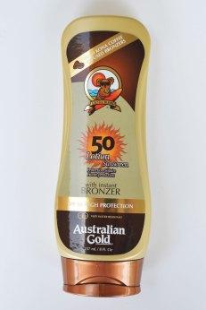 Australian Gold SPF 50 Lotion met Bronzer