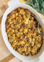 sausage and chestnut cornbread stuffing recipe