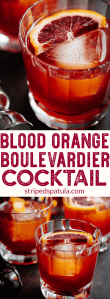 boulevardier cocktail recipe with blood oranges