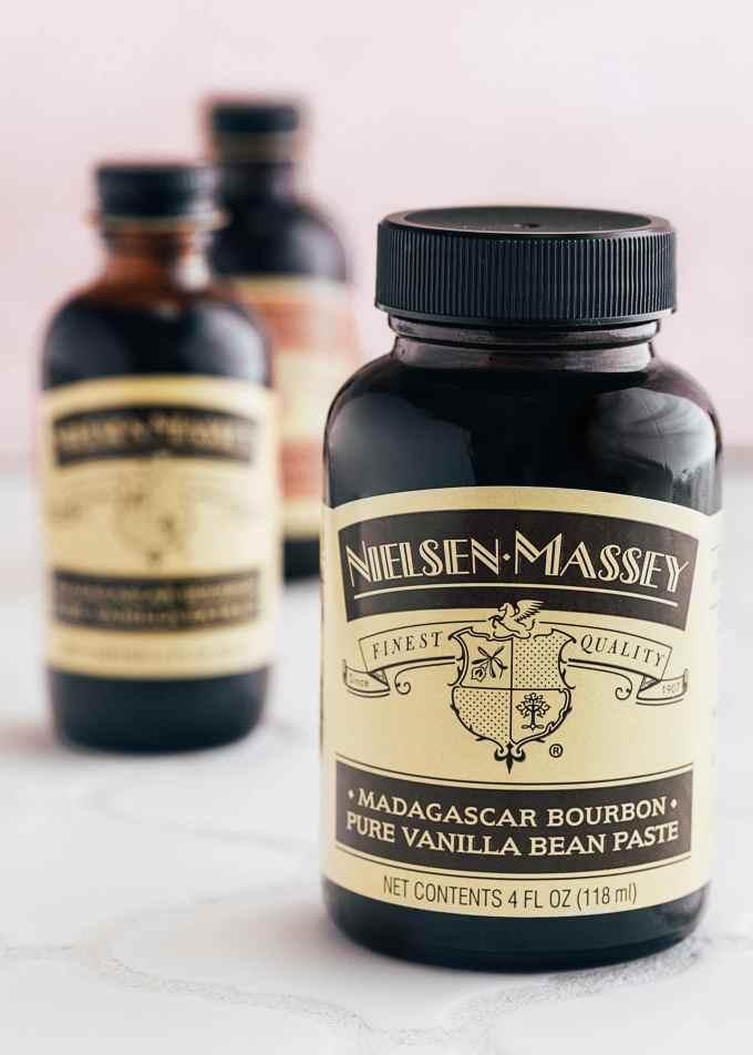 nielsen-massey madagascar bourbon vanilla bean paste and vanilla extract (sponsored)