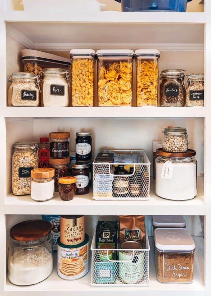 kitchen pantry organizers undermount farmhouse sink how to organize a and enjoy doing it striped spatula organization tips