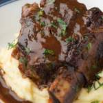 Beer Braised Short Ribs With Stout Oven Or Instant Pot Striped Spatula