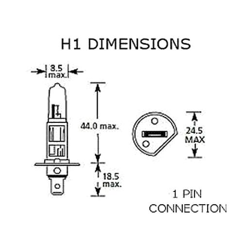 H1 H7 T10 55w RAINBOW XENON ELITE UPGRADE Headlight Bulbs