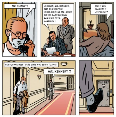 Fragment uit De Kennedy Files