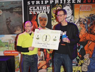 Stripglossy Stripbattle winnaar Mestrik