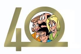 De Kiekeboes van Merho 40 jaar