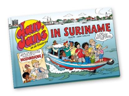Jan, Jans en de kinderen in Suriname, speciaal voor de leprastichting.