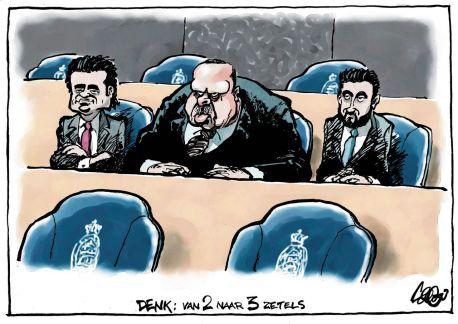 Op de tweede plaats deze cartoon van Jos Colignon.