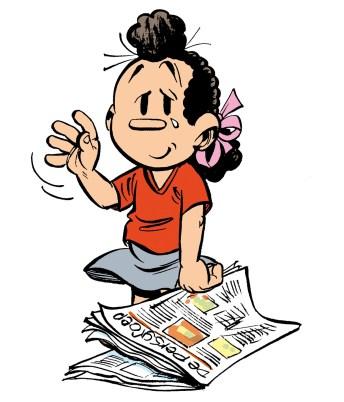 Elsje verdwijnt uit zeven kranten