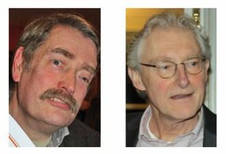 Rob van Eijck en Willem van Helden, winnaars van de P. Hans Frankfurtherprijs