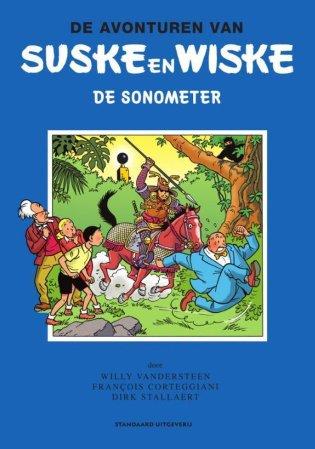 Cover van Suske en Wiske de Sonometer