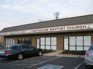 Lighthouse Baptist Church front