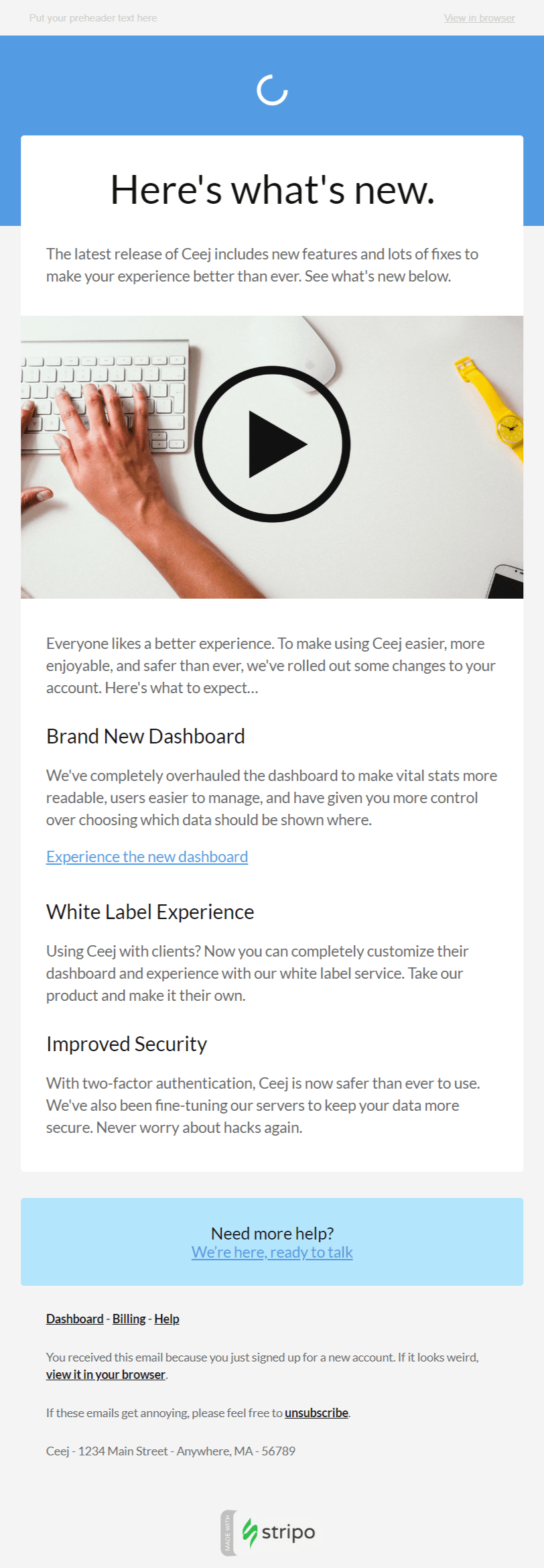 Whether you're ready to announce product launches, events, or new hires, we offer a variety of premade press release pdf templates that are perfect for your company. 20 New Effective Product Launch Announcement Emails Stripo Email