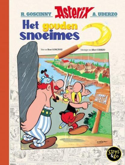 Asterix Het Gouden Snoeimes Luxe