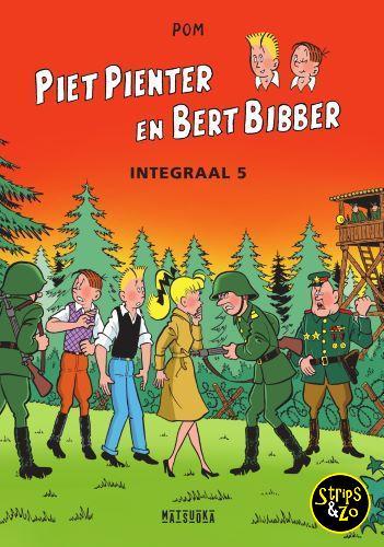 Piet Pienter en Bert Bibber Integraal 5