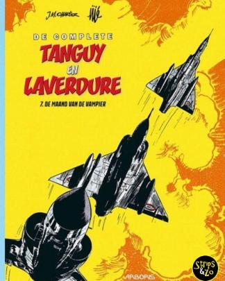 Complete Tanguy en Laverdure 7 De maand van de vampier 1