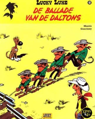 Lucky Luke - Relook 49 - De ballade van de Daltons