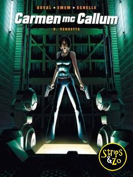 Carmen McCallum 9 - Het geval E.M.G. 4 - Vendetta